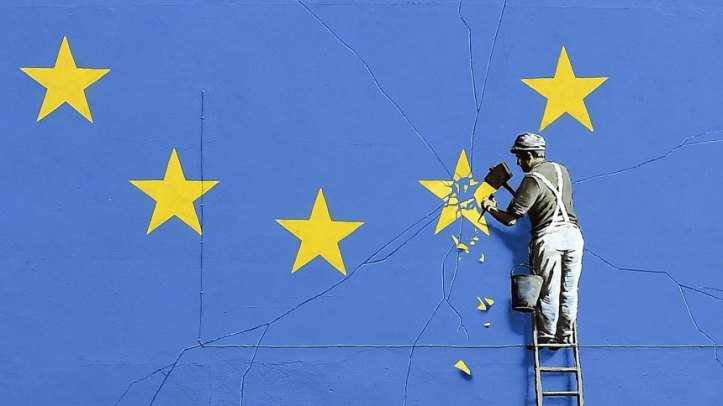 New Banksy artwork in Dover, United Kingdom - 08 May 2017